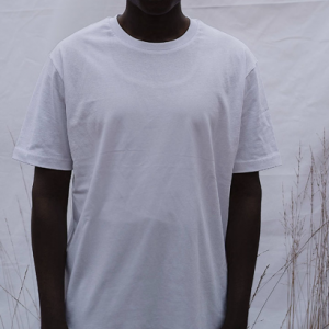 """T-Shirt """"stay you"""" white"""